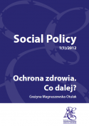 Social Policy 1(1)/2012